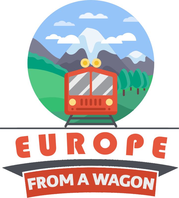 Europe from a Wagon logo