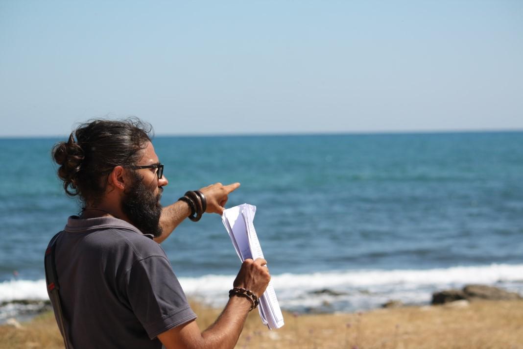 Il regista Leonardo Dell'Olio