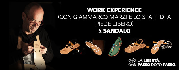 work experience sandali capresi made in italy crowdfunding a piede libero