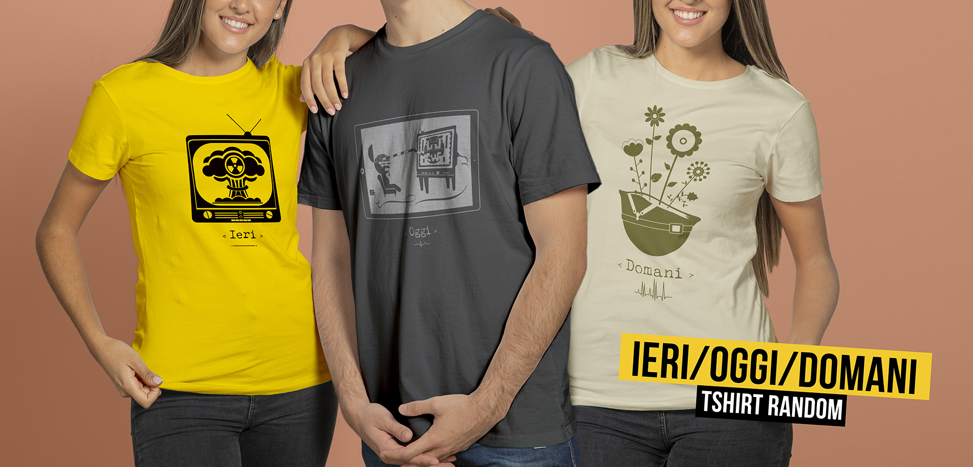 Magliette IERI OGGI DOMANI