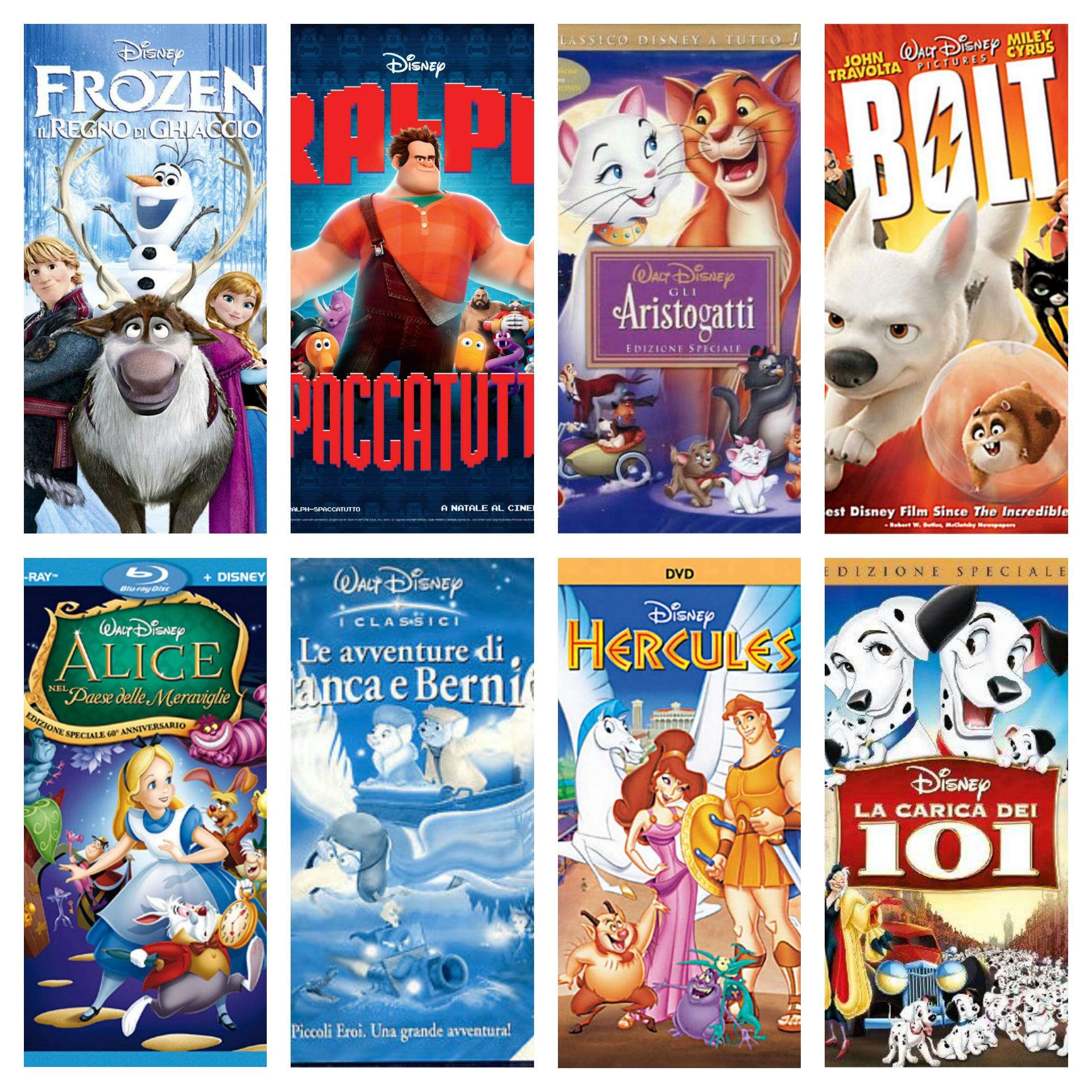 Raccolta dvd cartoni animati per bambini e ragazzi
