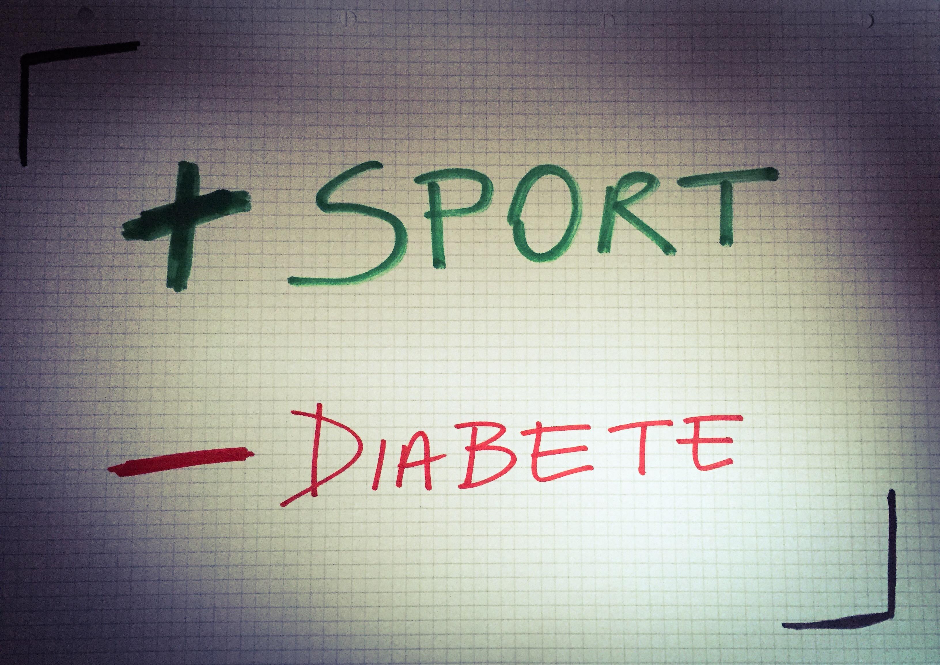 Risultati immagini per 2 diabetici su 3 non praticano alcuna attività fisica, t