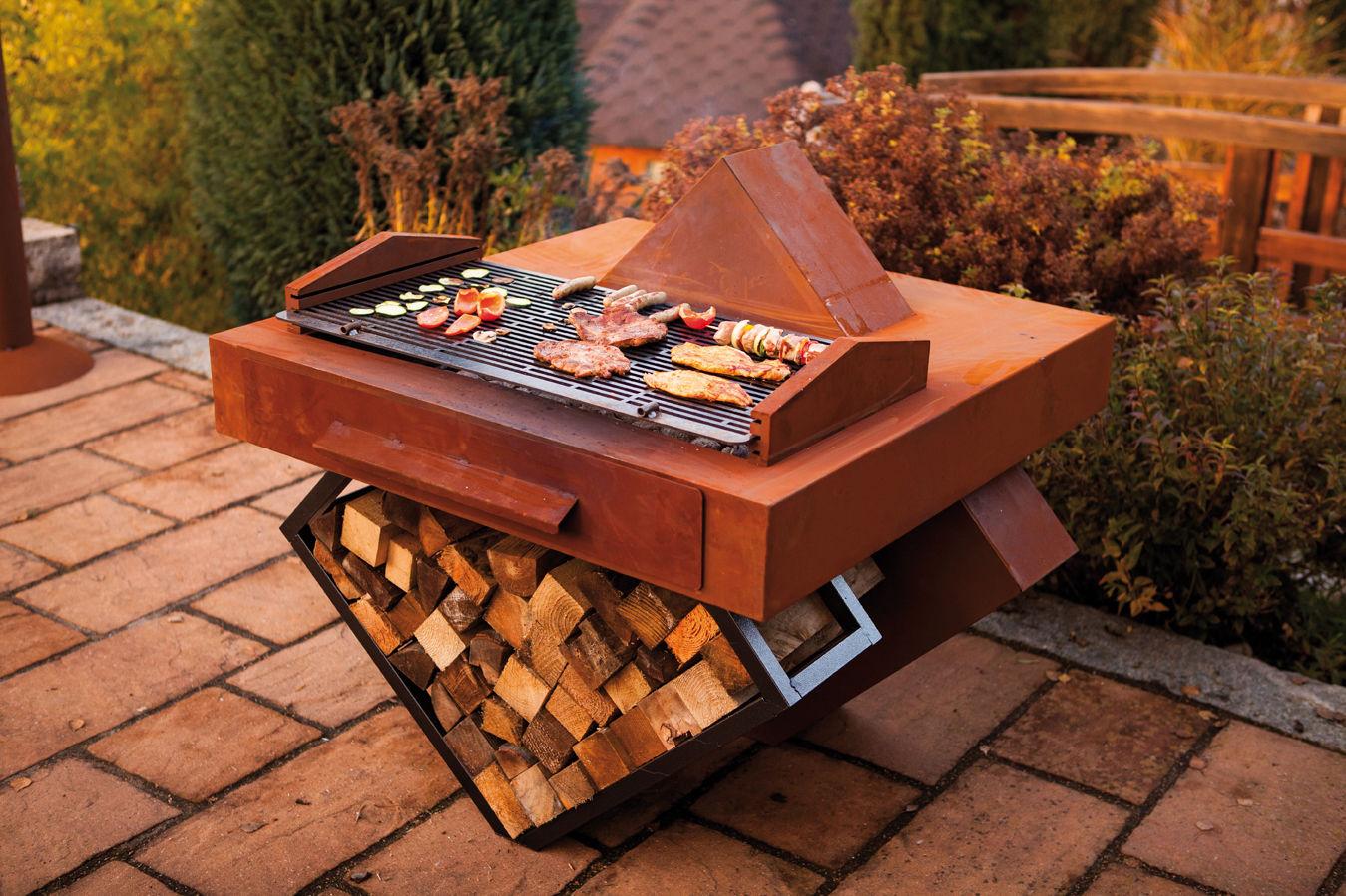 Caminetti e barbecue da giardino crowdfunding - Bbq da giardino ...