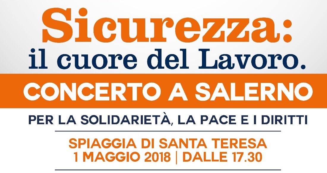 Lavoro solidariet e diritti concerto del primo maggio for Subito offerte lavoro salerno